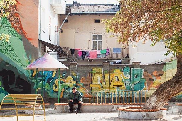 Фото дня: Реконструированная детская площадка во Львове. Зображення № 4.