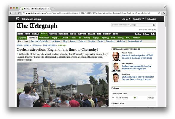 Другим тоном: Иностранные СМИ о Евро-2012 на Украине . Зображення № 7.