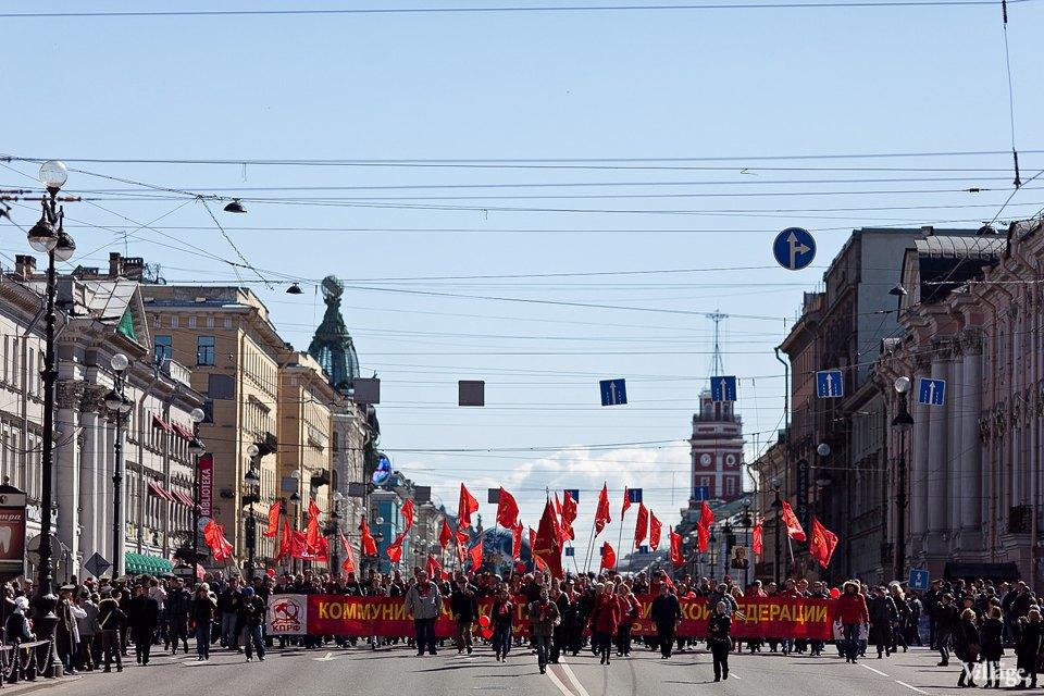 Фоторепортаж: Первомайская демонстрация. Изображение № 3.
