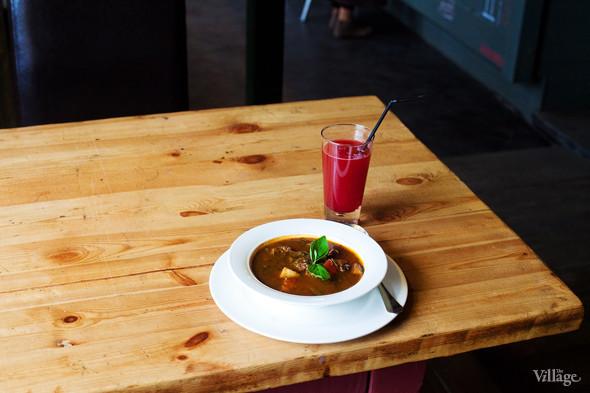 Галисийский суп с бараниной и пряными травами — 220 рублей. Изображение № 26.