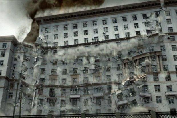 Как рушили Москву: От Тома Круза до Брюса Уиллиса. Изображение № 9.