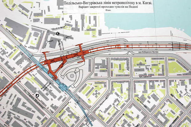 Четвёртая линия: Все проекты метро на Троещину. Зображення № 21.