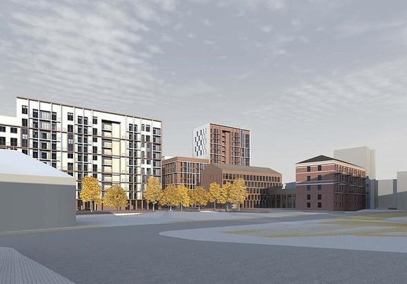 На набережной Яузы построят многофункциональный жилой комплекс. Изображение № 2.