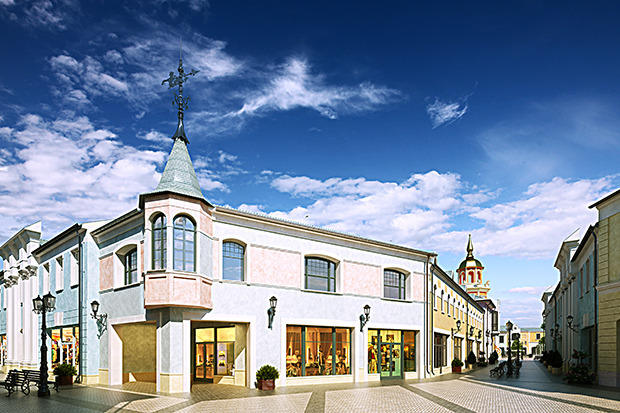 Outlet Village Белая Дача в макете. Изображение № 21.