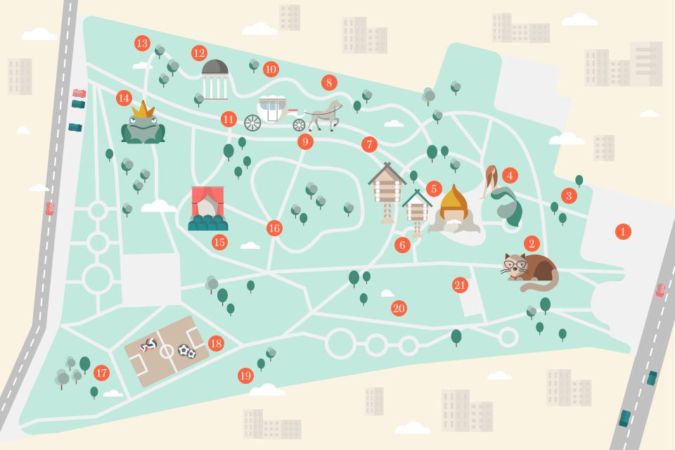Как будет выглядеть парк Пушкина после реконструкции. Зображення № 1.