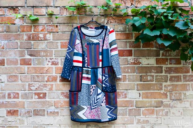 Платье See by Chloe, 1 200 грн. Состав: 60 % хлопок, 20 % шёлк, 20 % нейлон. Подкладка: 100 % шёлк. Изображение №8.