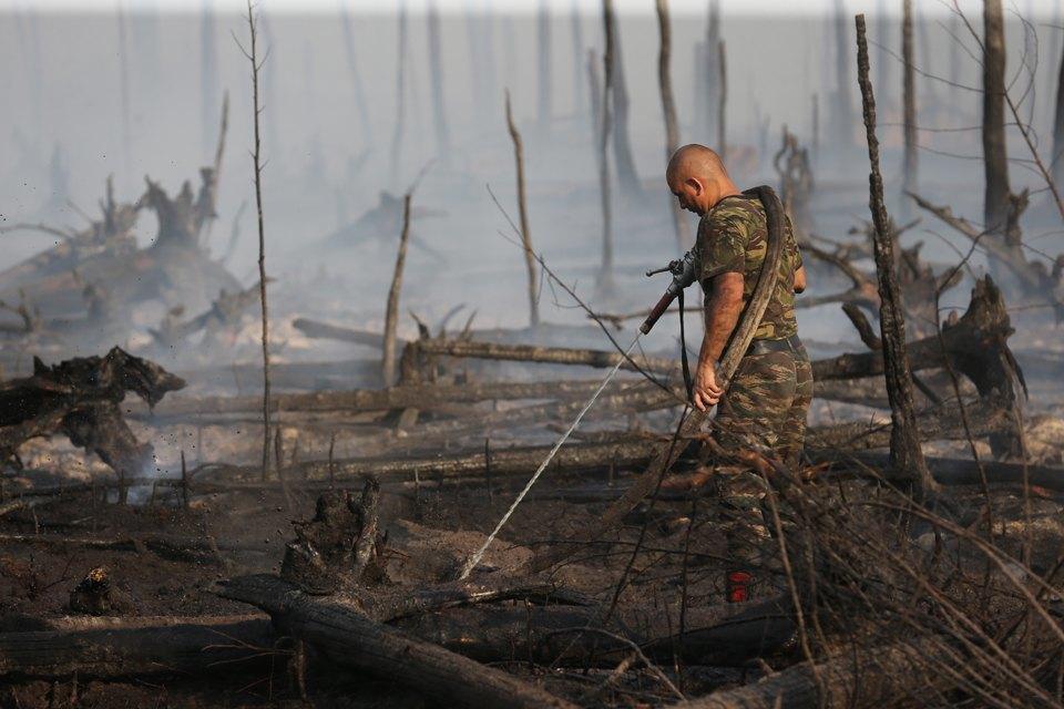 Как тушат лесные пожары вТверской области. Изображение № 2.