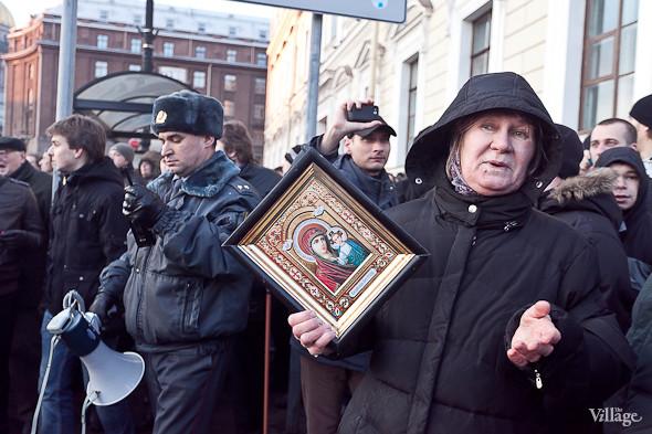 Фоторепортаж: Митинг 5 марта на Исаакиевской площади. Изображение № 17.