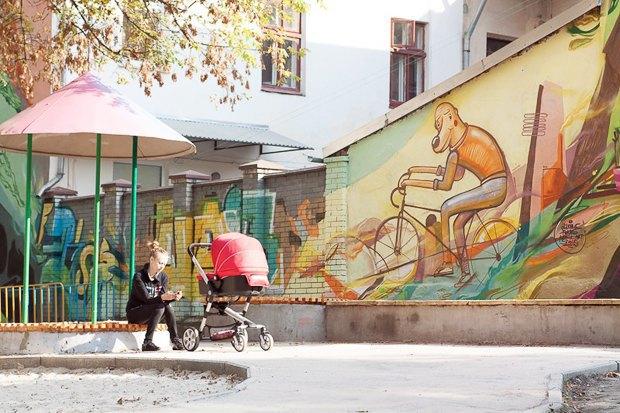 Фото дня: Реконструированная детская площадка во Львове. Зображення № 3.