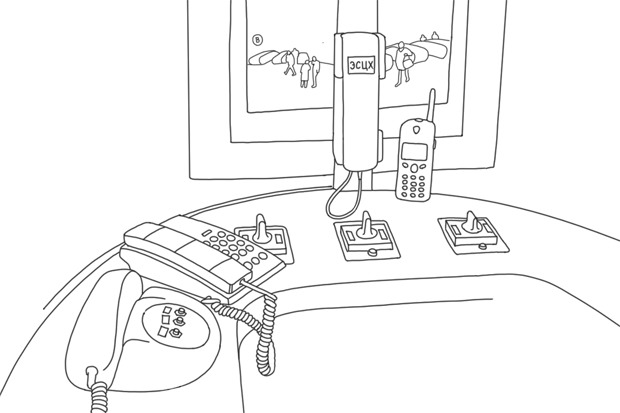 Как всё устроено: Дежурная уэскалатора. Изображение № 1.