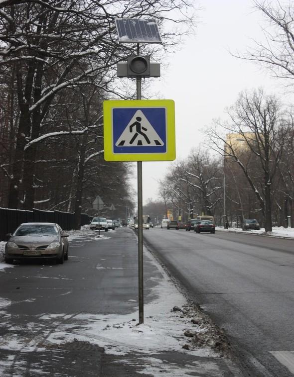 В лесопарках Москвы устанавливают фонари на солнечных батареях. Изображение № 7.