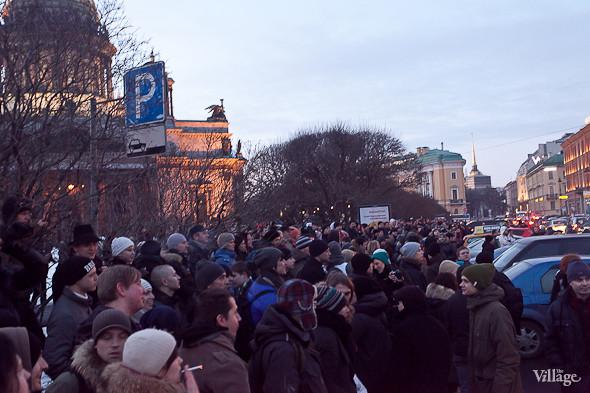 Фоторепортаж: Митинг 5 марта на Исаакиевской площади. Изображение № 33.
