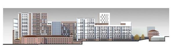 На набережной Яузы построят многофункциональный жилой комплекс. Изображение № 12.
