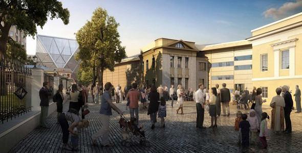 Пушкинский музей: Проект реконструкции. Изображение № 25.