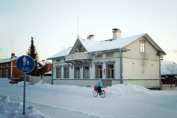 Консультант мэрии финского Оулу — о зимнем велодвижении. Изображение № 3.
