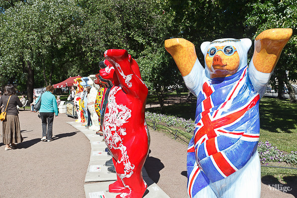 В Александровском саду выставили медведей United Buddy Bears. Изображение № 11.