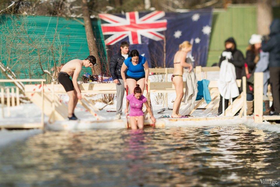 Фоторепортаж: Австралийские «моржи» в Серебряном Бору. Изображение № 14.