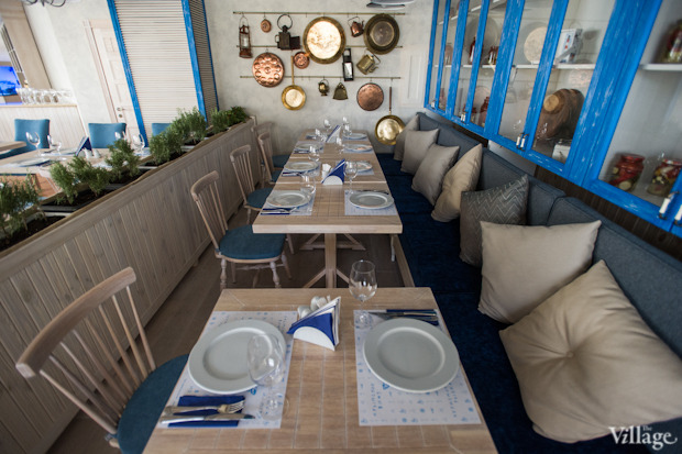 Новое место (Киев): Ресторан «Баркас. Рыба и вино». Изображение № 17.