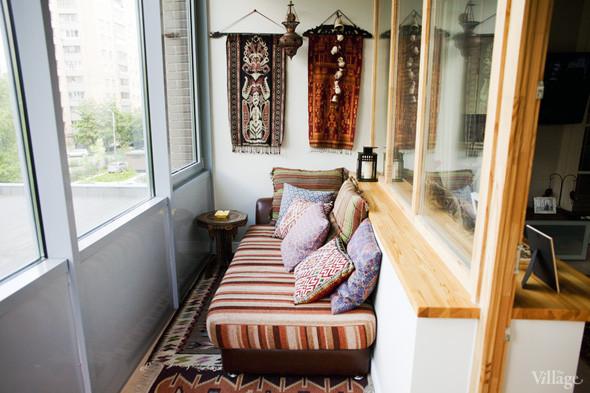 Идеи обустройства балкона под детское спальное место..