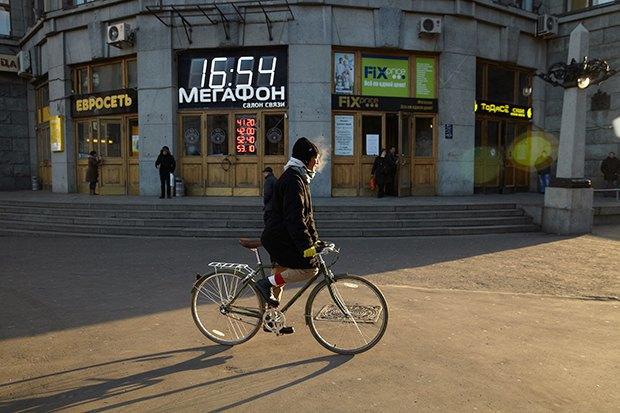 В диких условиях: Велосипед против автомобиля в –10 ˚C. Изображение № 12.
