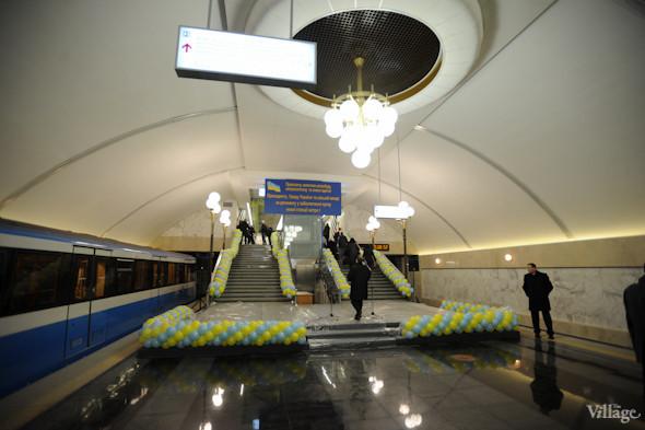 Фоторепортаж: В Киеве открылась новая станция метро. Зображення № 8.