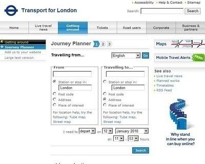 Journey planner . Изображение № 2.