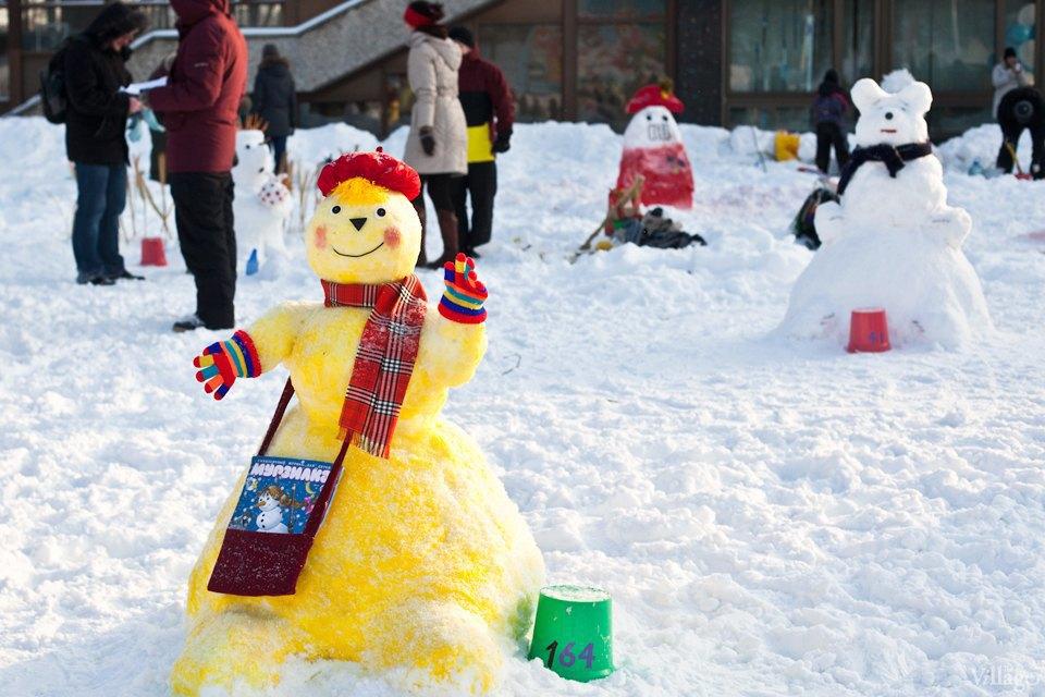 Люди в городе: «Арт-битва снеговиков». Изображение № 16.