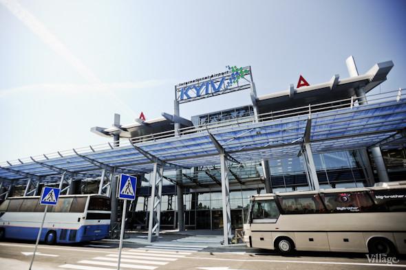 Фоторепортаж: Новый терминал аэропорта Киев — за день до открытия. Зображення № 12.