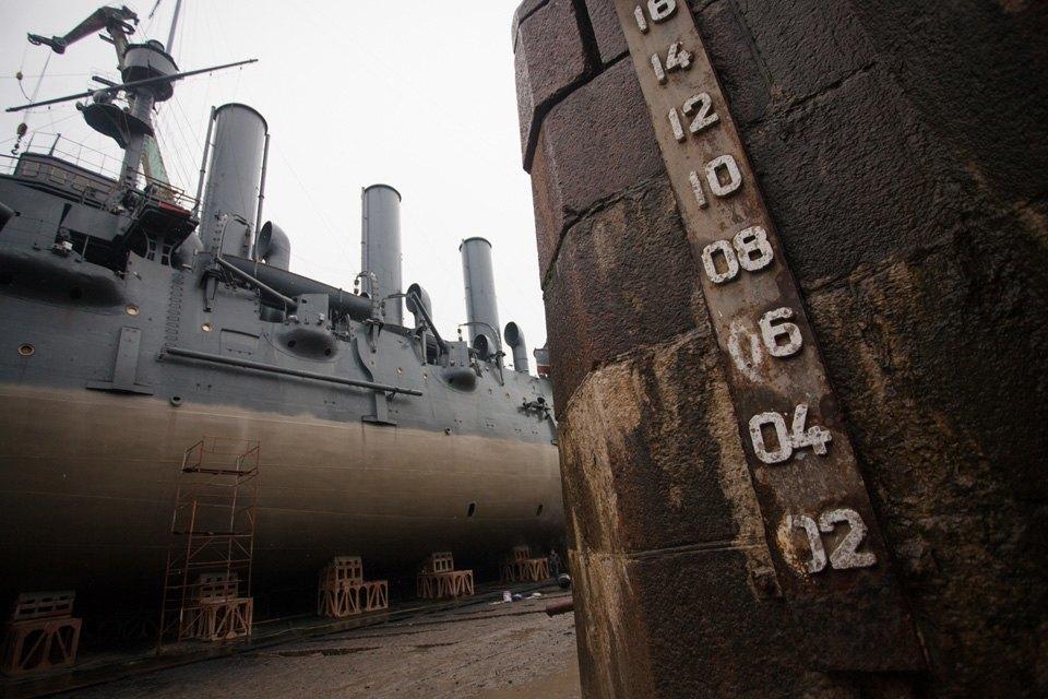 Как ремонтируют крейсер «Аврора». Изображение № 3.