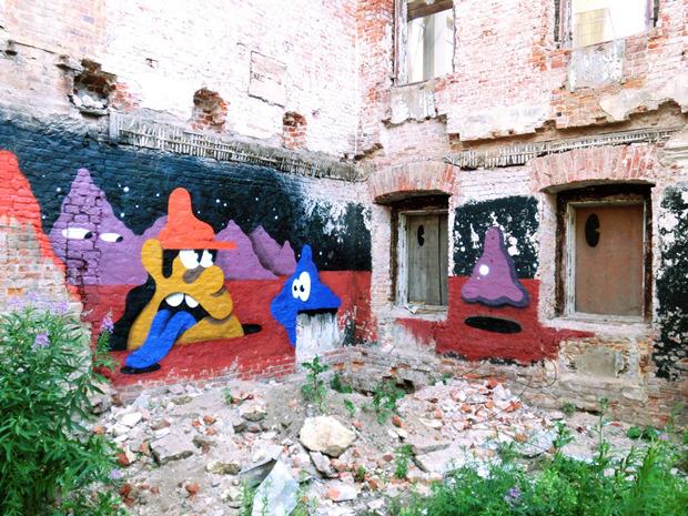 Герб Москвы: Версия граффити-художника Nootk. Изображение № 14.