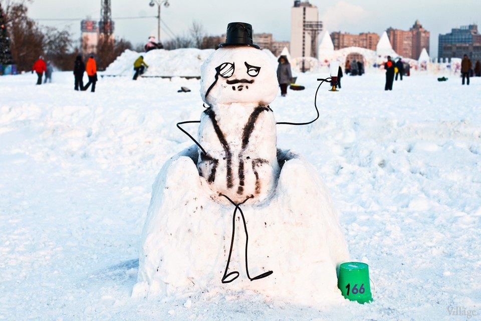 Люди в городе: «Арт-битва снеговиков». Изображение № 31.