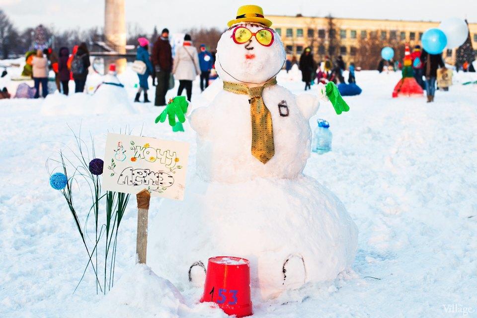 Люди в городе: «Арт-битва снеговиков». Изображение № 29.