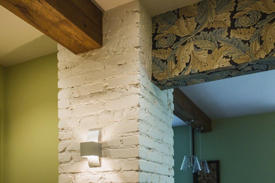 Квартира с декоративным камином для семьи сноворождённым . Изображение № 16.