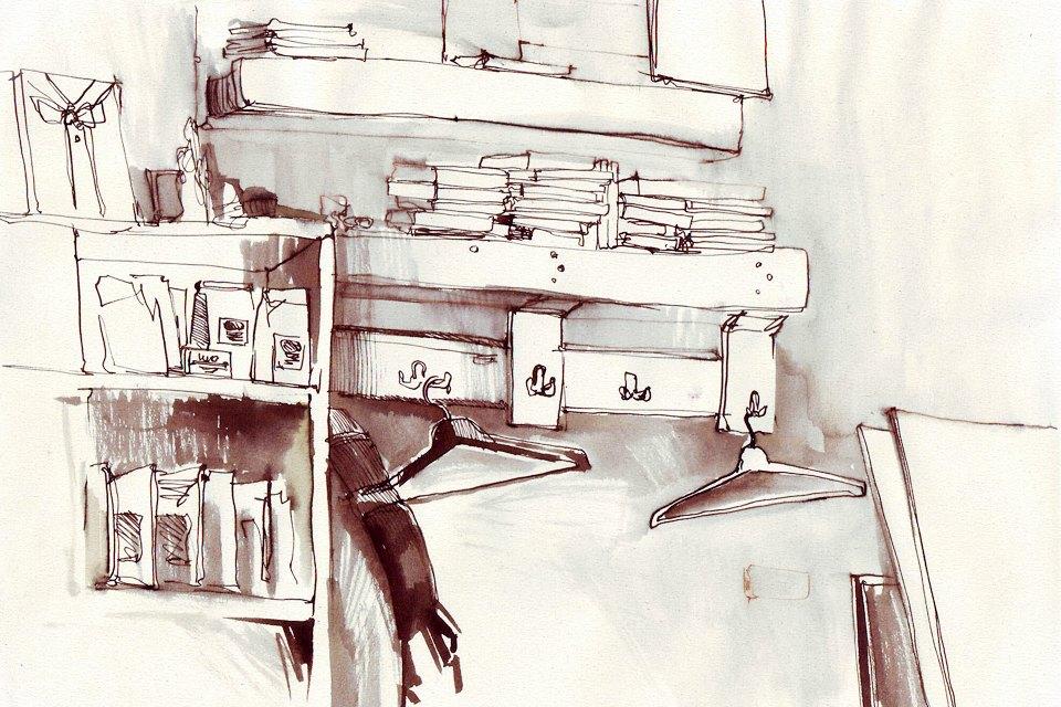 Клуб рисовальщиков: Кофейня LES. Изображение №4.
