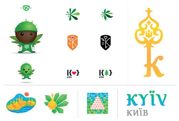 Определен победитель интернет-голосования за логотип Киева. Зображення № 2.