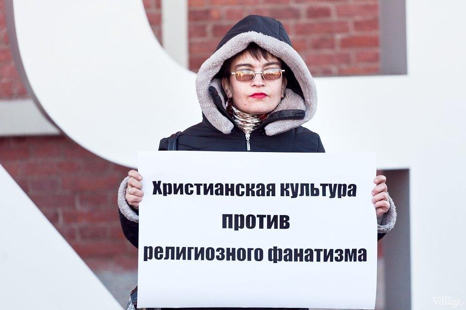 Люди в городе: Первые посетители выставки Icons в Петербурге. Изображение № 6.