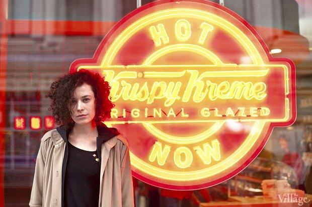 Саша Боярская опончиковой Krispy Kreme. Изображение № 14.