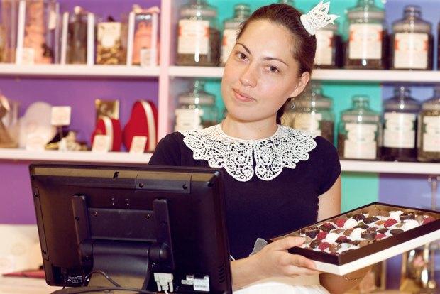 На «Соколе» открылся шоколадный бутик La Princesse Choco. Изображение № 3.