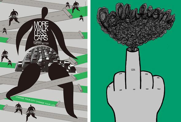 В Киеве впервые пройдёт Международная триеннале экологического плаката «4-й Блок». Изображение № 2.