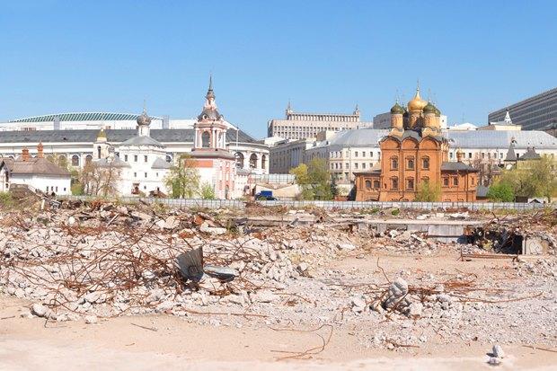 Итоги недели: Концепции «Зарядья», дизайн-код Москвы и гастрономическая улица. Изображение №1.