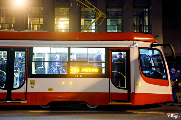 В городе появились первые скоростные трамваи. Изображение № 2.