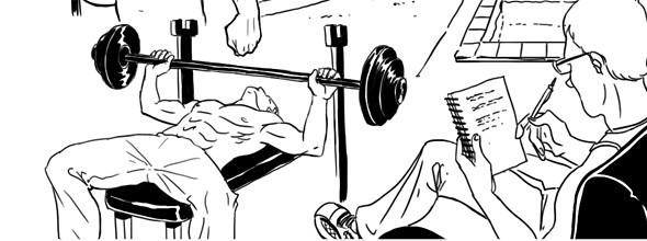 Как всё устроено: Работа фитнес-тренера. Изображение №8.