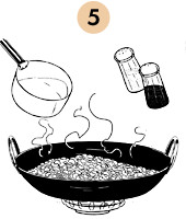 Рецепты шефов: Рис с бобами и пряностями «Мавры и Христиане». Изображение №9.