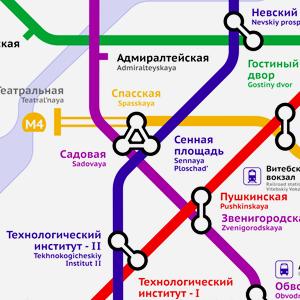 Карты на стол: 11 альтернативных схем петербургского метро. Изображение № 25.
