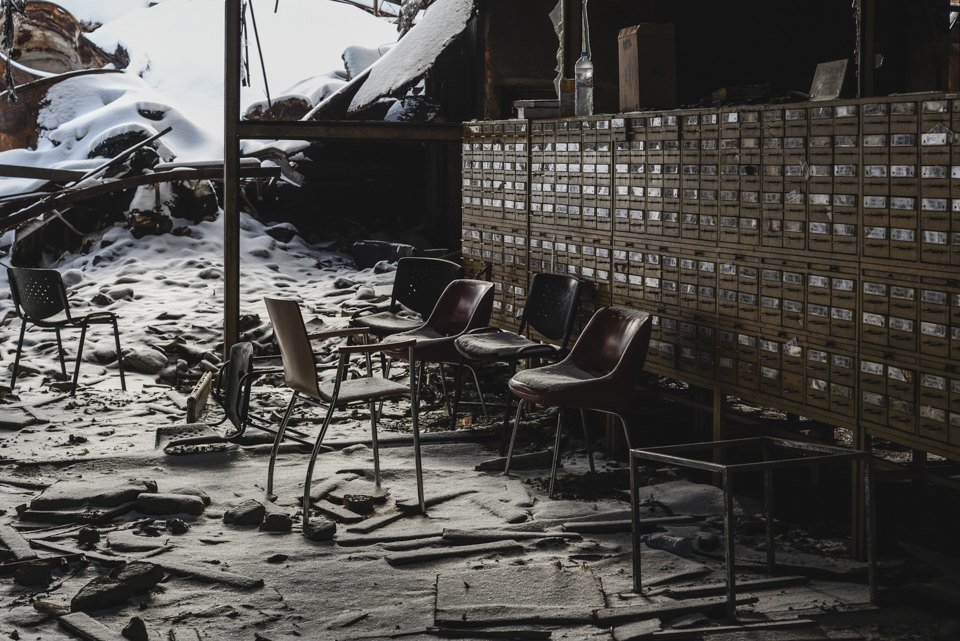 Как выглядит библиотека ИНИОН РАН через 9дней после пожара. Изображение № 3.