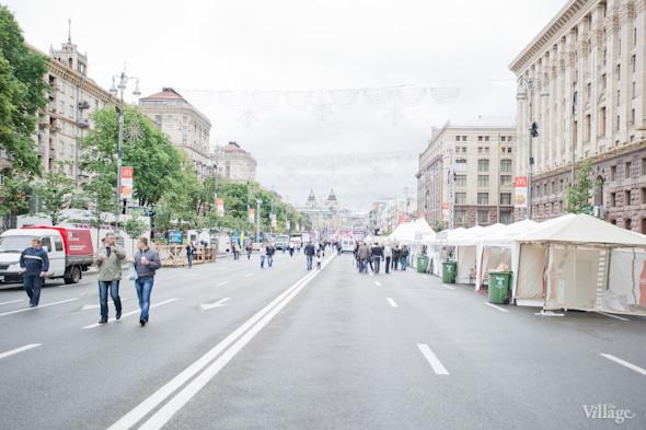 Фоторепортаж: Улица футбола — фан-зона на Крещатике. Зображення № 14.