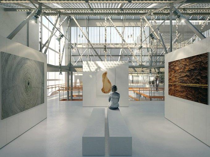 Итальянское бюро разработало концепцию центра современного искусства в ГЭС-2. Изображение № 1.