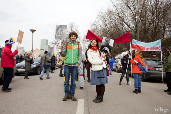 В Москве прошло арт-шествие в честь Дня космонавтики. Изображение № 37.