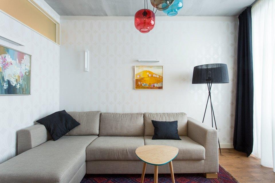 Трёхкомнатная квартира в духе модернизма на «Октябрьском поле». Изображение № 15.