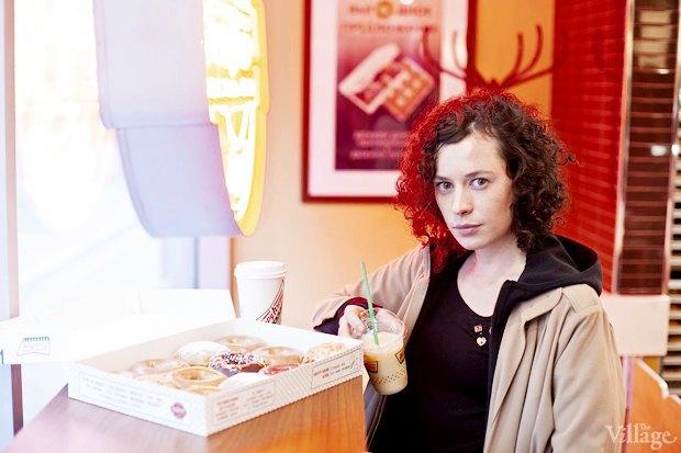 Саша Боярская опончиковой Krispy Kreme. Изображение № 11.
